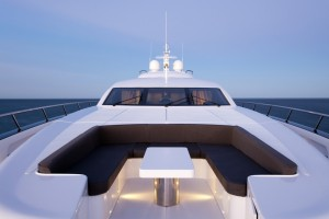Ghost II has an amazing bow for entertaining - New Years Cruises