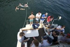 Swimming off Neptune for new years cruises