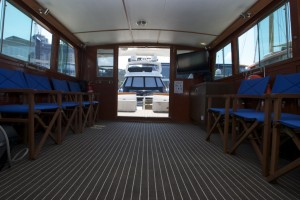 Neptune saloon has plenty of space for new years cruises